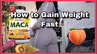 Maca Root | How to Gain Weight Fast + Facts