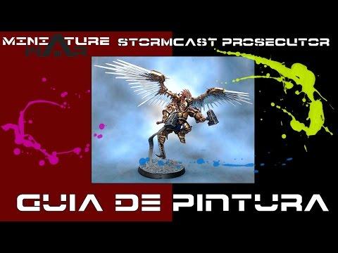 Como pintar - Stormcast Prosecutor / How to paint - Stormcast Prosecutor (ENG-Sub)
