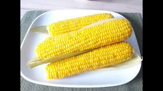 Вареная кукуруза / Как правильно варить кукурузу / Сколько времени нужно варить кукурузу