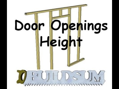 door-openings---height