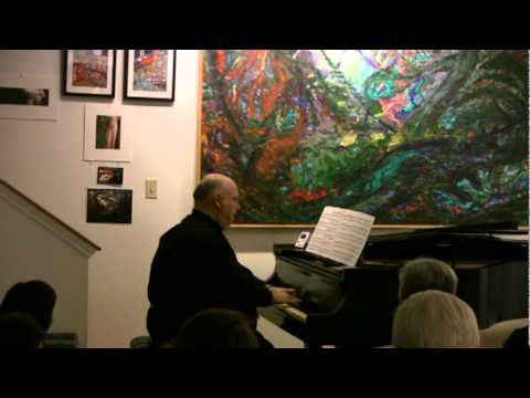 "Stephen Fierros plays ""Jagdlied"" from Waldszenen, Op. 82 by Robert Schumann"