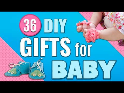 36 DIY Gifts for Baby Newborn Gift Ideas for Baby Showers