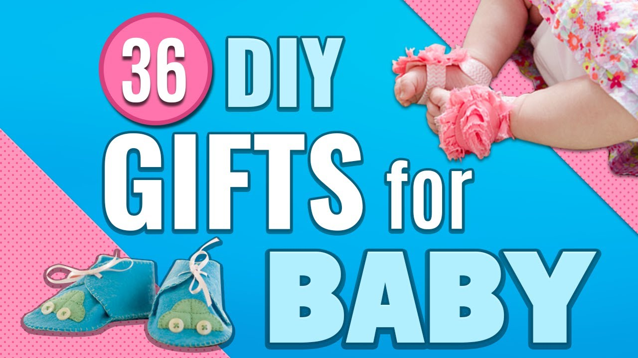 36 DIY Gifts for Baby – Newborn Gift Ideas for Baby Showers