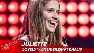 Juliette - 'Lovely' | Blind Auditions | The Voice Kids Belgique
