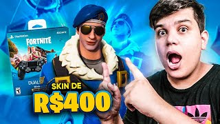 I SPENT 400 REAIS ON A SKIN AT FORTNITE ‹ JUAUM ›