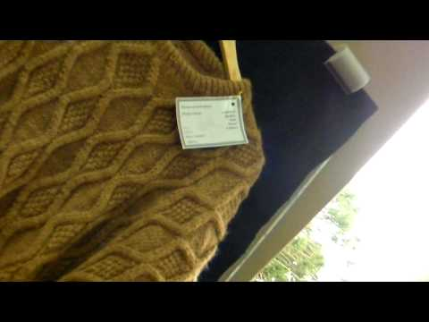 Hand Knitting Fair Alpaca Men Sweater