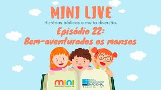 MINI LIVE IPNONLINE Episódio 22: Bem Aventurados (Lic. Davi Medeiros) - 18/06/2020