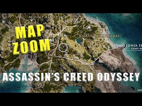 Assassin S Creed Odyssey Karte.Assassin S Creed Odyssey How To Zoom In On The Map