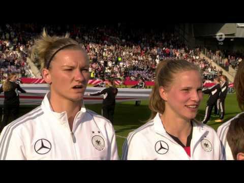 Women's Euro-2017 qualification. Germany - Croatia (12/04/2016)