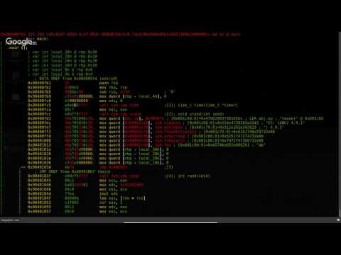 Radare2 - unix-like reverse engineering framework (Overview) part1