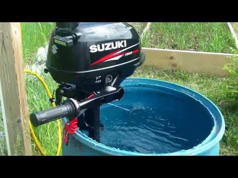 How to clean 6hp 8hp suzuki 2 stroke outboar for Suzuki 2 5 hp motor