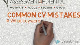 Common CV mistakes
