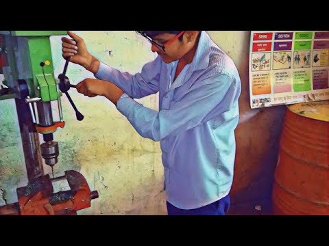 🛠🛠Make a sliding fitting job in iti , fitter trade ,2018🔨🔧..