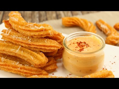 Käse Churros & Chili Cheese Dip I Cheese Churros I Cheesy Week