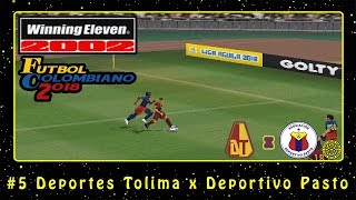Winning Eleven 2002: Fútbol Colombiano 2018 (PS1) #5 Deportes Tolima x Deportivo Pasto