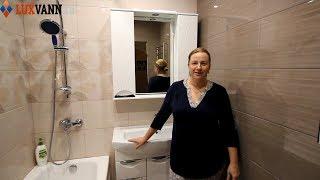 Ремонт ванной комнаты и туалета под ключ в Москве. Дизайн