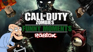 Roblox Call of Duty Zombies Funny Moments! - Tommy Gun, Pro Guest, Fails