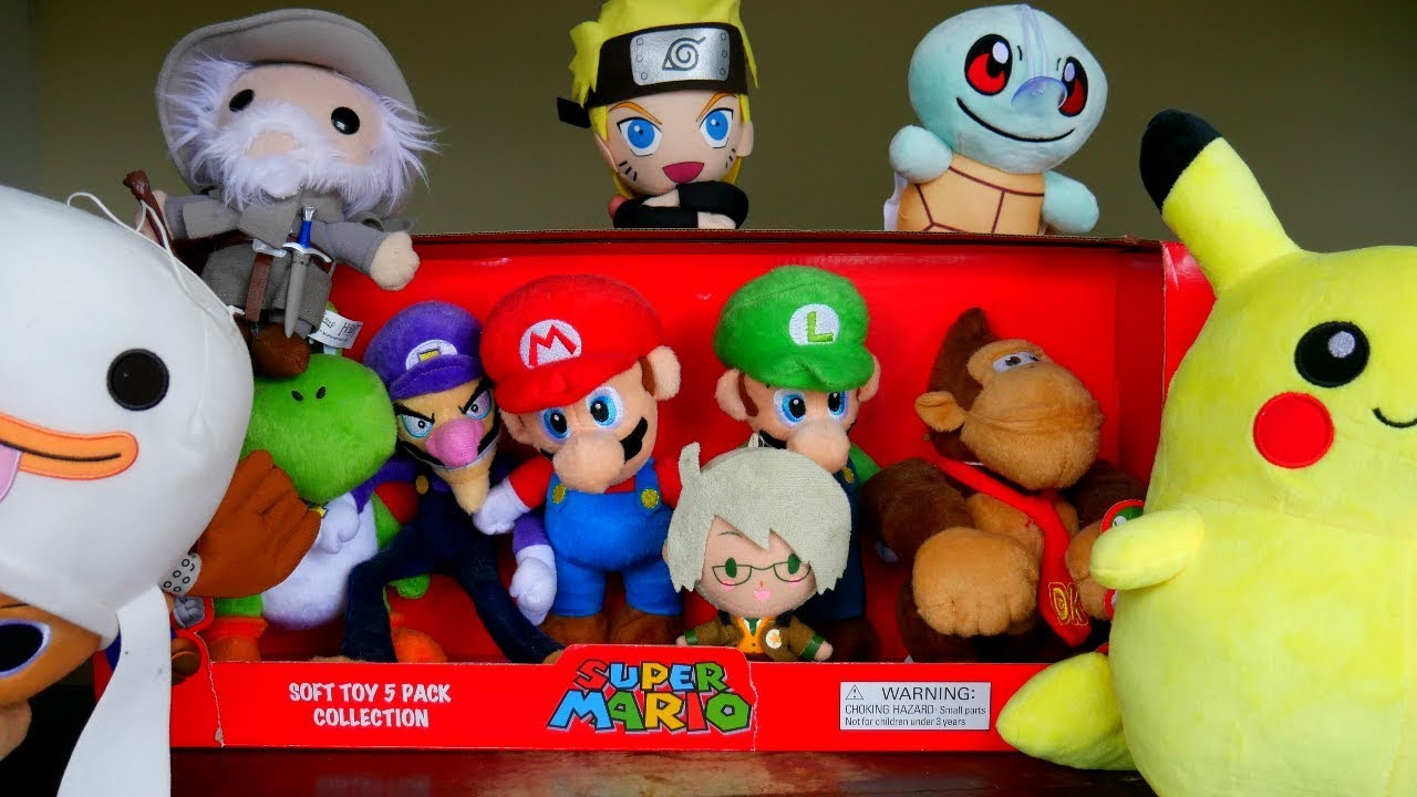 Anime And Video Game Plush Collection Youtube