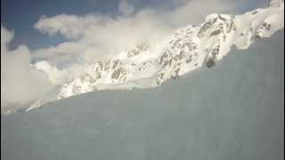 Buried Alive - Avalanche accident caught on helmet camera