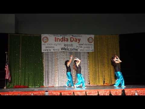 India Day 2017 - Group Performance of over 70 students of Ekta Dance Academy, Boston