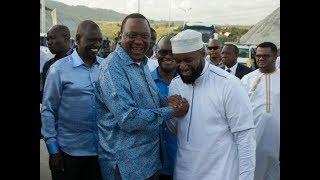 Uhuru,Joho Handshake: Mombasa Governor Ali Hassan Joho promises to support President Uhuru's agenda