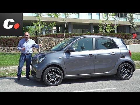 smart EQ forfour (smart electric drive) | Prueba / Test / Review en español | coches.net