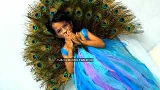 Peacock national bird of India fancy dress speech/fancy dress for kids.