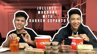 JOLLIBEE MUKBANG WITH DARREN ESPANTO!!!