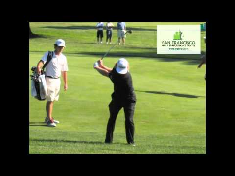 Charley Hoffman FO Iron Golf Swing Slow Moion