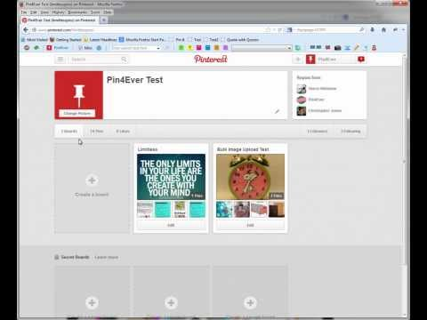 Pin4Ever Bulk Image Upload Tool For Pinterest