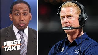 Stephen A. calls Cowboys' offense 'predictable' after loss to Titans | First Take
