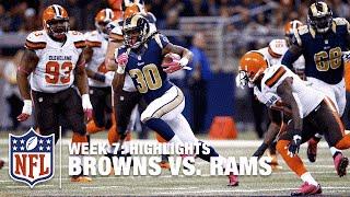 Browns vs. Rams | Week 7 Highlights | NFL
