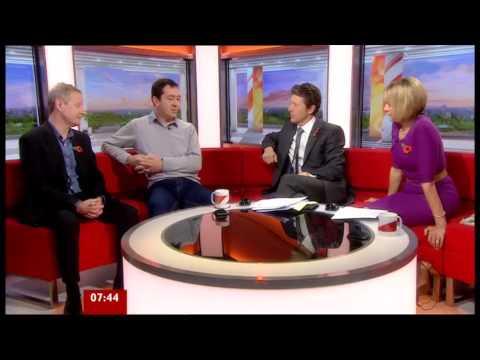 Chris Boardman BBC Breakfast 9 November 2012