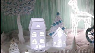 декоративный домик своими руками с подсветкой  Мастер-класс. DIY Decorative home ideas #decorating