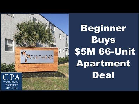 Beginner Buys $5M 66-Unit Apartment Deal