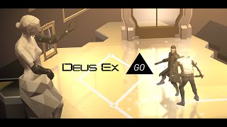 Deus Ex GO is a turnbased puzzle infiltration game set in a stylized interpretation of the Deus Ex Universe As covert agent Adam Jensen youll use hacking