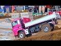 Awesome Rc Truck´s I Minibaustelle Alsfeld 2017 I Rc Construction-Site I MAN I Liebherr