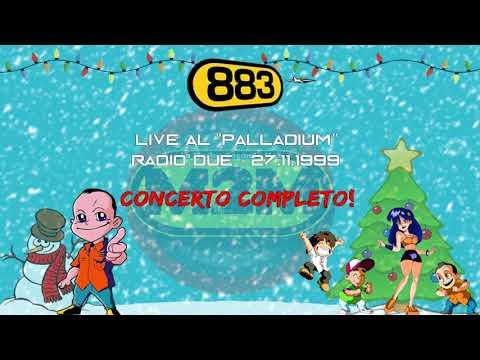 """883: Live al """"Palladium"""" Radio 2 - 27/11/99 (CONCERTO COMPLETO)"""
