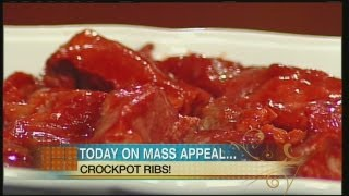 Mass Appeal - Crock Pot Country Style Ribs & Roasted Cauliflower Florets