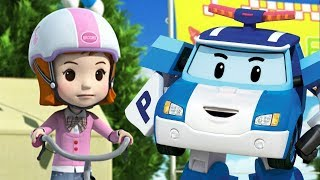 Robocar Poli çizgi film. Bisiklet güvenliği. Seçkin bölümler!