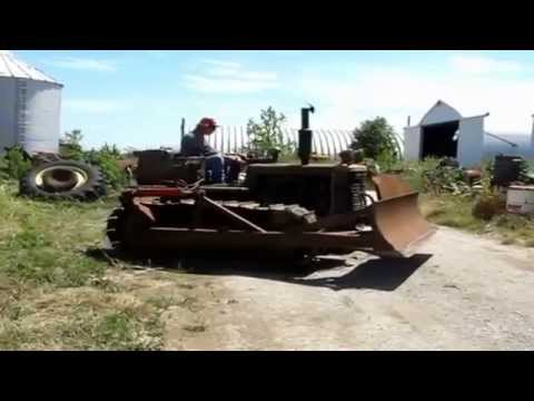 1944 International Harvester TD-9 military grade crawler dozer | sold at  auction August 14, 2012