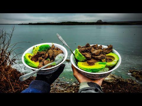 Lakeside Cooking Venison Tenderloins (Rainbow Trout Catch & Cook Attempt)