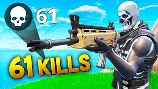 *NEW WORLD RECORD* 61 KILLS..!!! | Fortnite Funny and Best Moments Ep.259 (Fortnite Battle Royale)