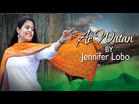 Ae Watan | Female Version | Jennifer Lobo | Raazi | Alia Bhatt | Arijit Singh | Gulzar