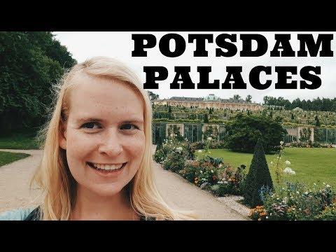 Potsdam Sanssouci park | travel vlog: Sanssouci palace, Orangery palace, New palace, New chambers