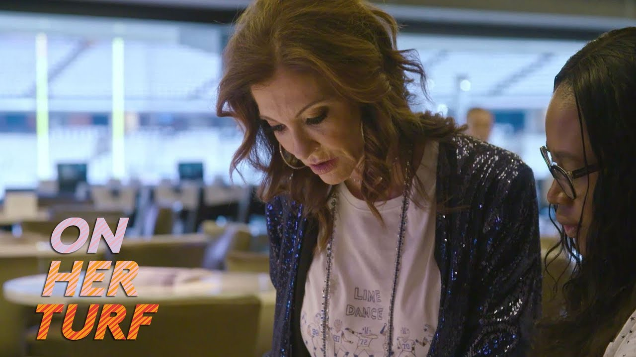 Sunday Night Football: Behind the scenes with Charlotte Jones Anderson I On Her Turf I NBC Sports