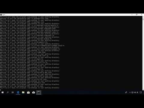 Angular 7(앵귤러 7) 시작하기 - Angular 7 개발 환경 구축 및 Hello World 예제 실행하기