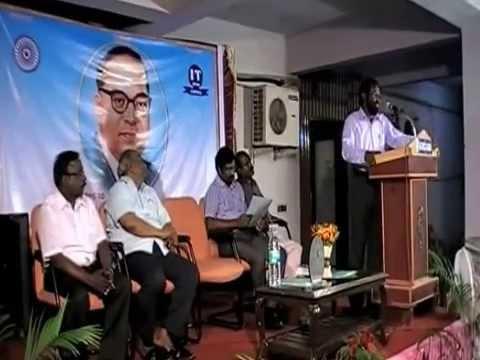 Dr Ambedkar : Greatest Indian, Speech By Dr. K. Jayakumar
