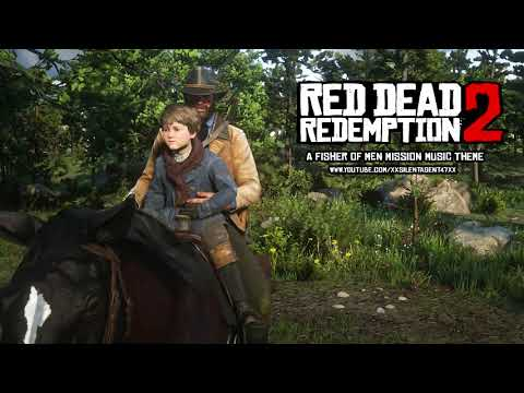 Red Dead Redemption 2 - A Fisher Of Men (Uncle Arthur And Jack Fishing) Mission Music Theme