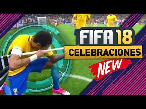 FIFA 18 NUEVAS CELEBRACIONES!!! NEYMAR, ISCO, CRISTIANO RONALDO & MÁS!!! 😱😱 (SUGERENCIAS)